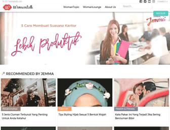 womantalk.com screenshot
