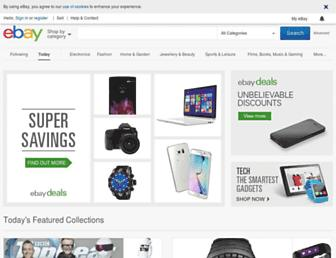 m.ebay.ie screenshot