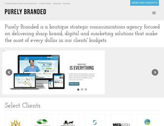 purelybranded.com screenshot