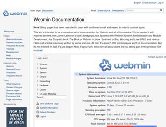 doxfer.webmin.com screenshot