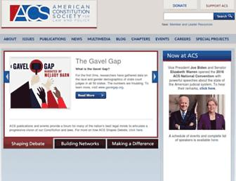 Fullscreen thumbnail of acslaw.org