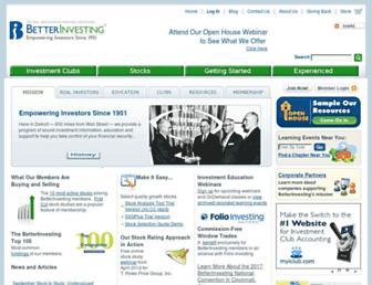 betterinvesting.org screenshot