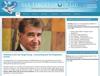 Thumbshot of Taxtargetgroup.com
