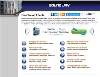 Thumbshot of Soundjay.com