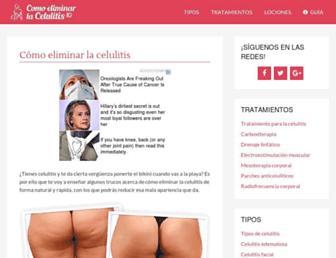 comoeliminarlacelulitis10.com screenshot