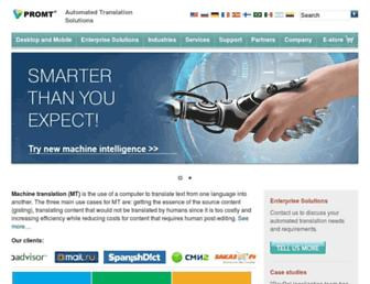 promt.com screenshot