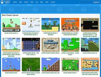 classicgames.me screenshot