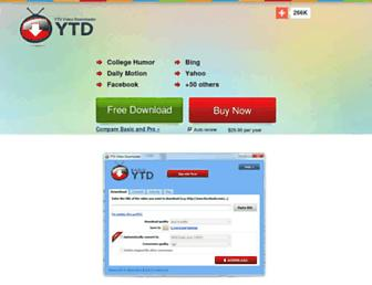 ytddownloader.com screenshot