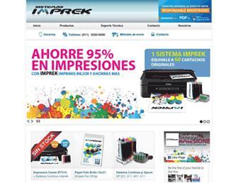 imprek.com.ar screenshot