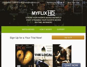 Thumbshot of Myflixhd.com