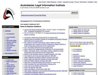www5.austlii.edu.au screenshot