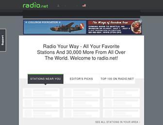 radio.net screenshot