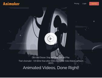 animaker.com screenshot