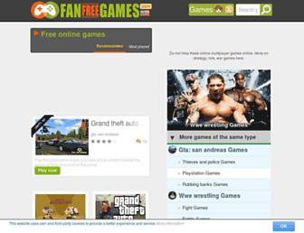 fanfreegames.com screenshot