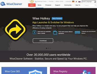 wisecleaner.com screenshot