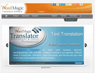 Thumbshot of Wordmagicsoft.com