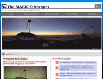 magic.mpp.mpg.de screenshot