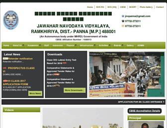 jnvpanna.com screenshot