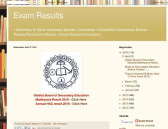 examresult12.blogspot.com screenshot