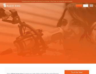 radioking.com screenshot