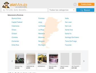 alamaula.com screenshot