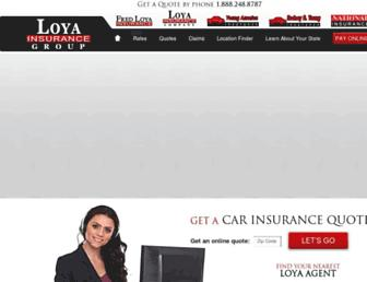 fredloya.com screenshot