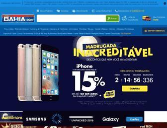 casasbahia.com.br screenshot