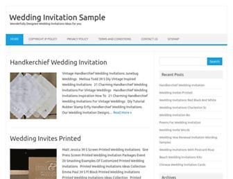 weddinginvitation.surfing-dormouse.com screenshot