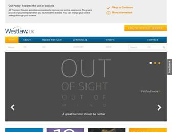 Thumbshot of Westlaw.co.uk