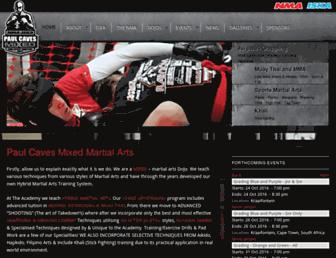 kickboxing.co.za screenshot