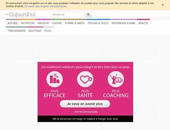 aujourdhui.com screenshot