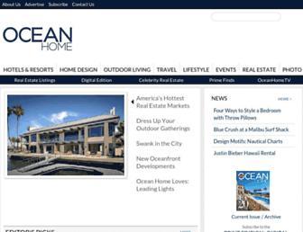 oceanhomemag.com screenshot