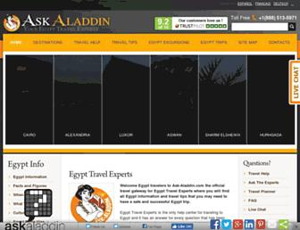 Thumbshot of Ask-aladdin.com
