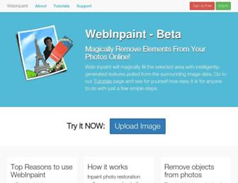 Thumbshot of Webinpaint.com