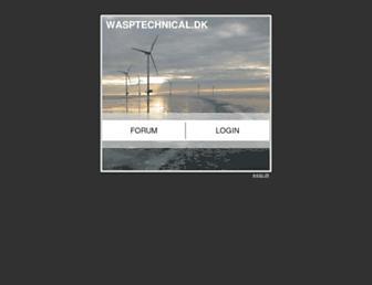 wasptechnical.dk screenshot
