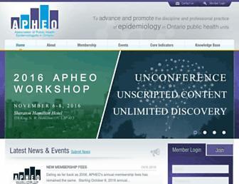 apheo.ca screenshot