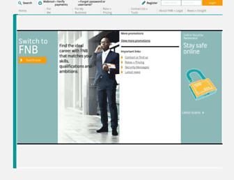 fnbzambia.co.zm screenshot