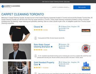 carpetcleaning.ca screenshot