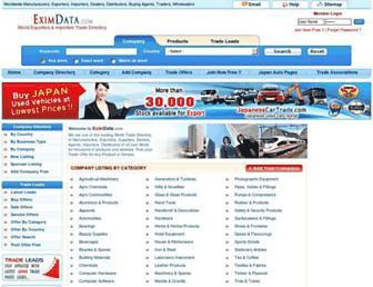 Thumbshot of Eximdata.com