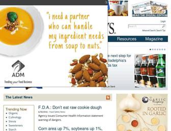 foodbusinessnews.net screenshot
