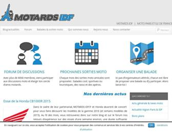 motards-idf.fr screenshot