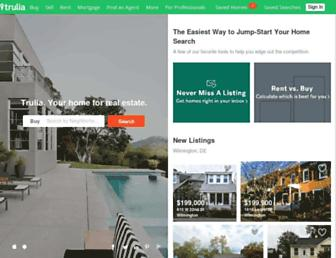 Thumbshot of Trulia.com