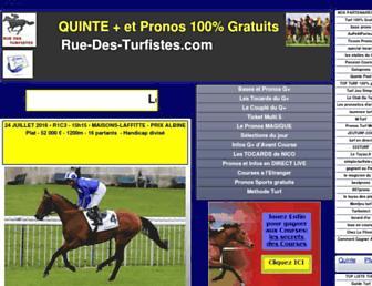 rue-des-turfistes.com screenshot