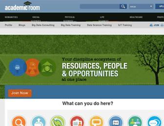 academicroom.com screenshot
