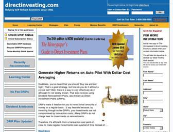 directinvesting.com screenshot