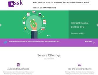 gssk.co.in screenshot
