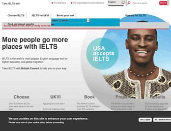takeielts.britishcouncil.org screenshot