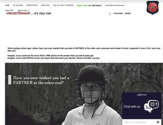 Thumbshot of Cricketershop.com