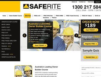 saferite.com.au screenshot
