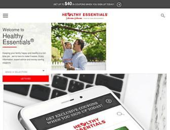 Thumbshot of Healthyessentials.com